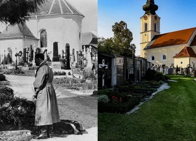 Адольф Гитлер в Леондинге и Линце