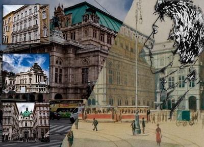 Гитлера в Вене - где бывал Адольф Гитлер