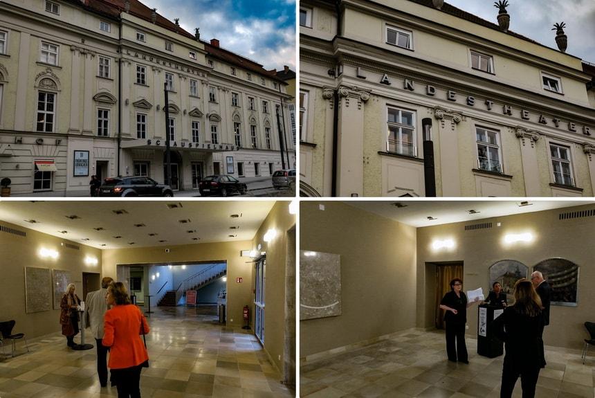 Театр Landestheater куда ходили Адольф Гитлер и Август Кубичек