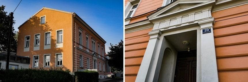 Школа в Леондинге - здесь учился Адольф Гитлер