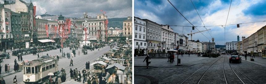 Hauptplatz Linz - Adolf-Hitler Square