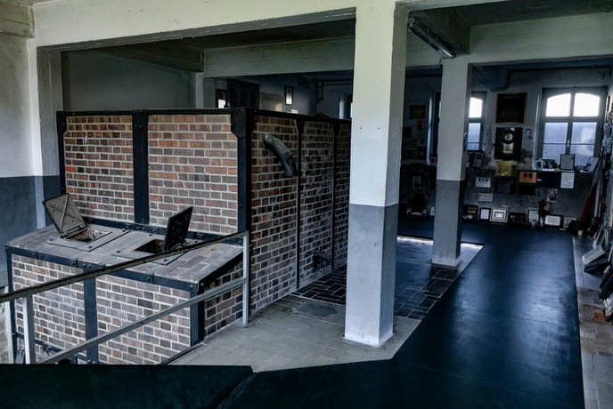 The furnaces of the Mauthausen memorial