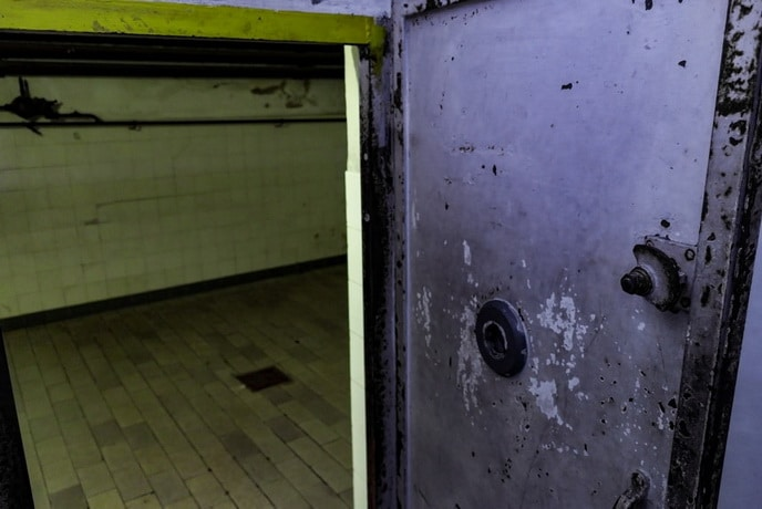 Entrance to the Gas chamber