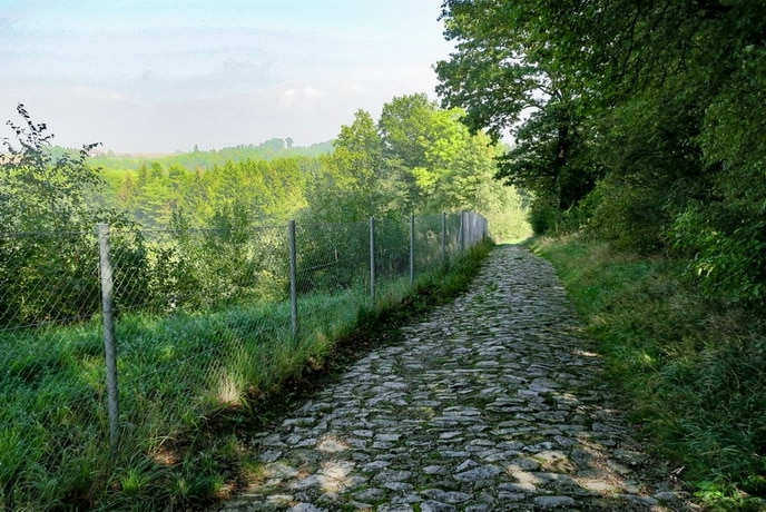 Footpath to the Mauthausen Quarry