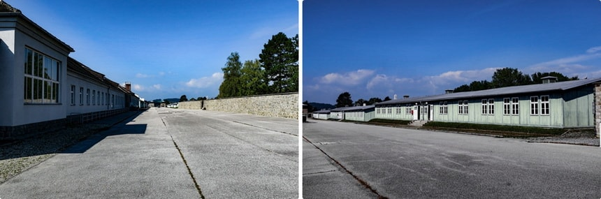 ROLL-CALL AREA (Appellplatz) at the Mauthausen memorial