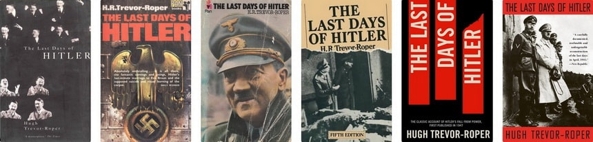 The last days of Hitler book editions Hitler's last days