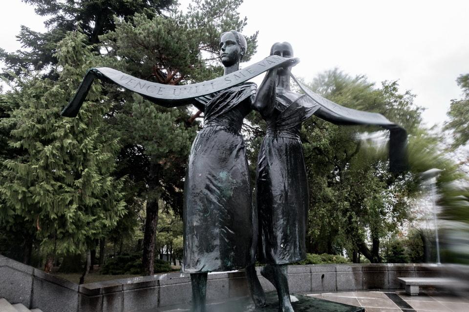 Soviet memorial in Bratislava