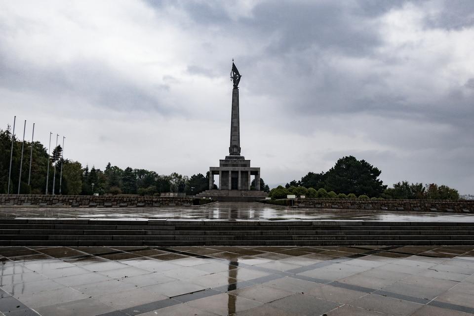 Slavin Memorial Complex in Bratislava, Slovakia