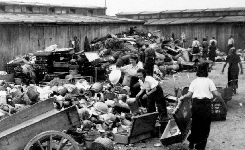 Нацистские лагеря смерти в Польше