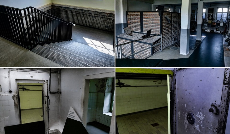 GAS CHAMBER, EXECUTION ROOM AND CREMATORIA