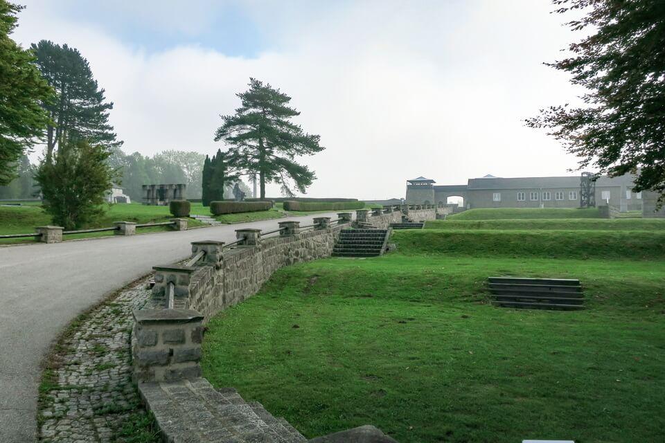 A memorial park at the KZ-Mauthausen, Autsria