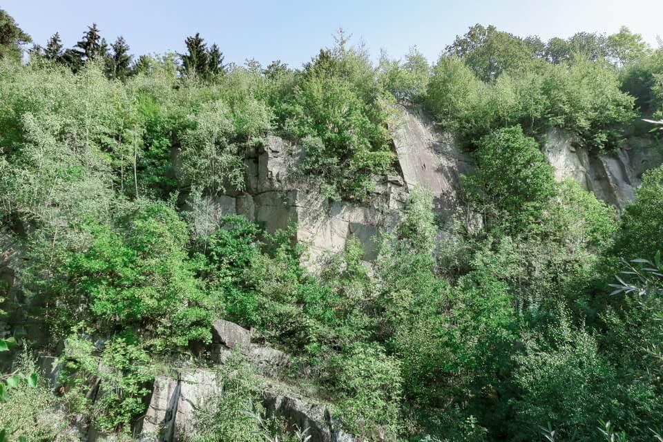 """""""PARACHUTE JUMP"""" (Fallschirmspringerwand). Mauthausen"""