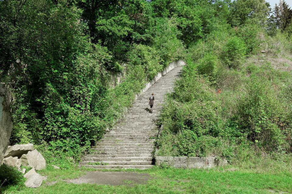 Maurhausen stairs of death