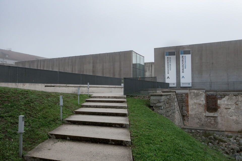 INFORMATION CENTER of the Mauthausen Memorial