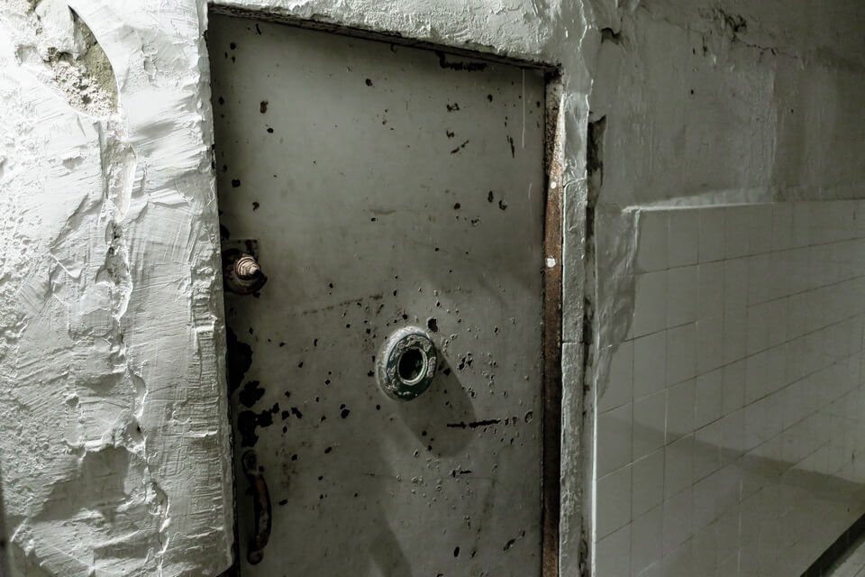 The gas chamber in Austria, Mauthausen