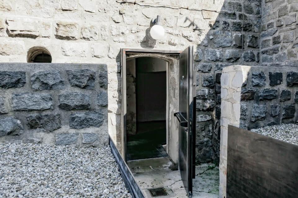 The camp mrison of KZ-Mauthausen