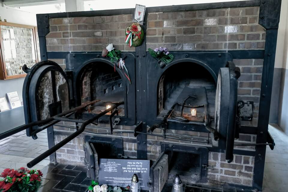 The crematoria of the Mauthausen camp