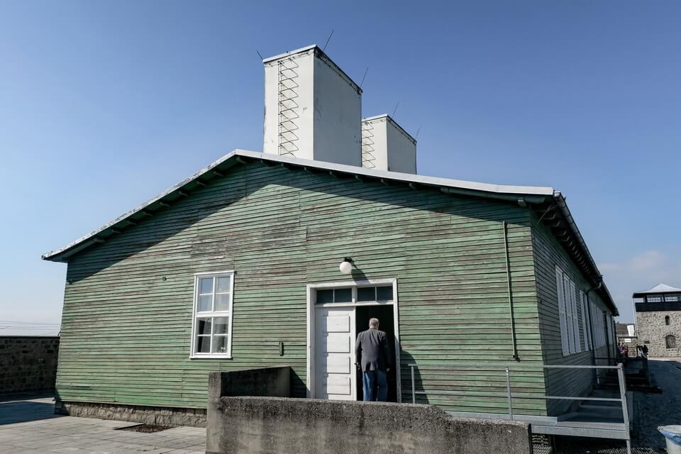 LAUNDRY BARRACK (Wäschereibaracke) Mauthausen