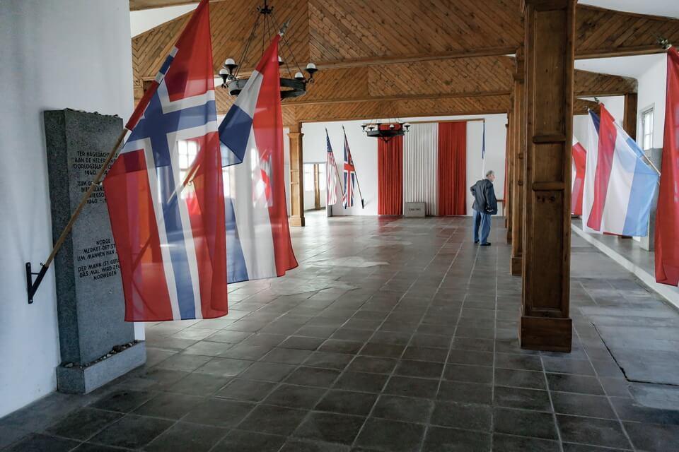 The laundry barack Mauthausen camp