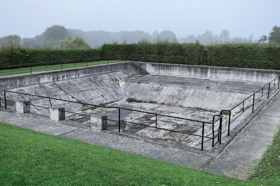 The water pond at Maurhausen, Austria