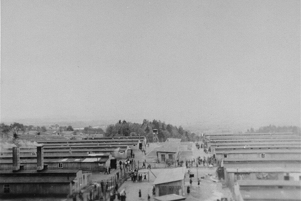 Russian camp at Mauthausen