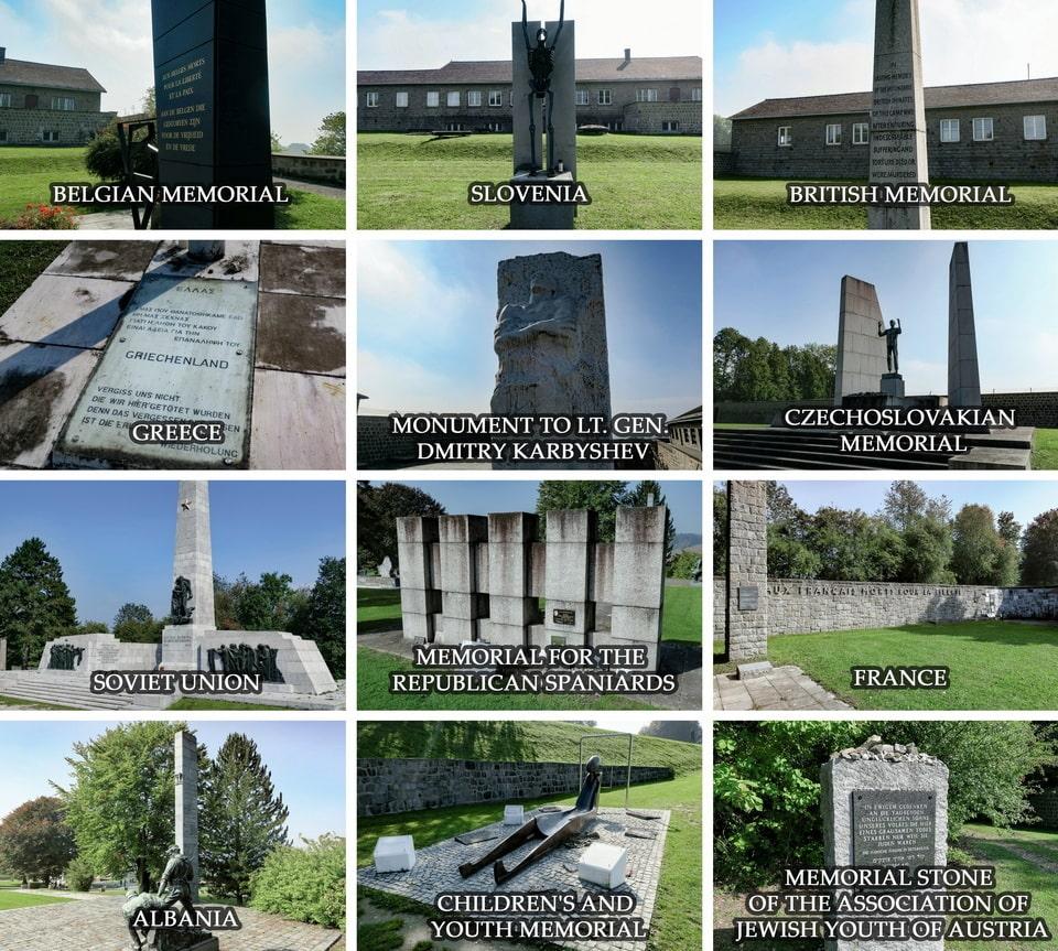 Mauthausen Memorial park