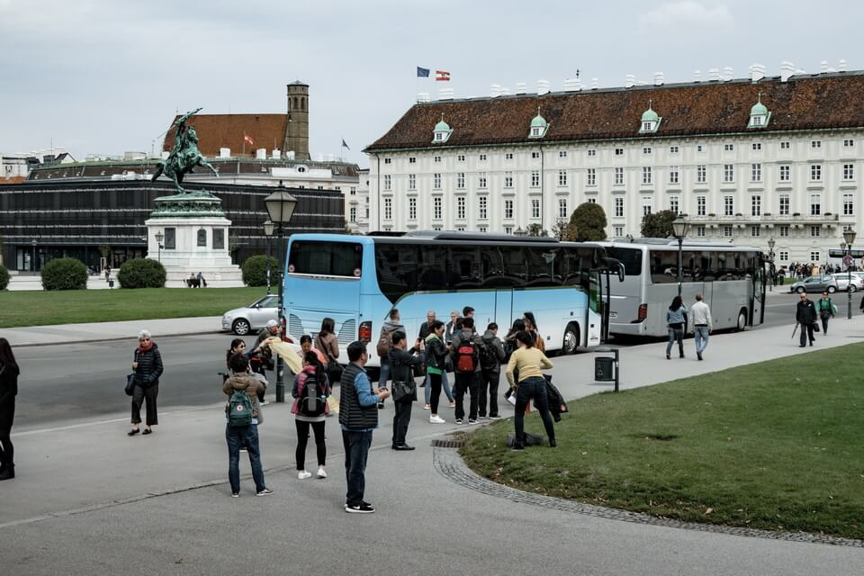 Heldenplatz in Vienna