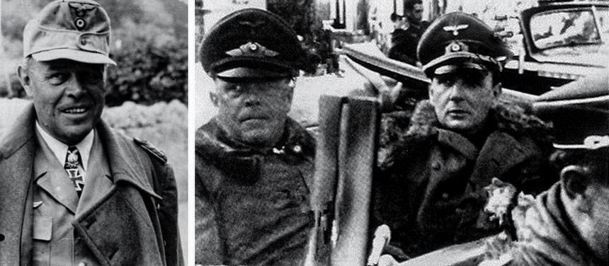 Отношение Зигфрида Вестфаля к Альберту Кессельрингу