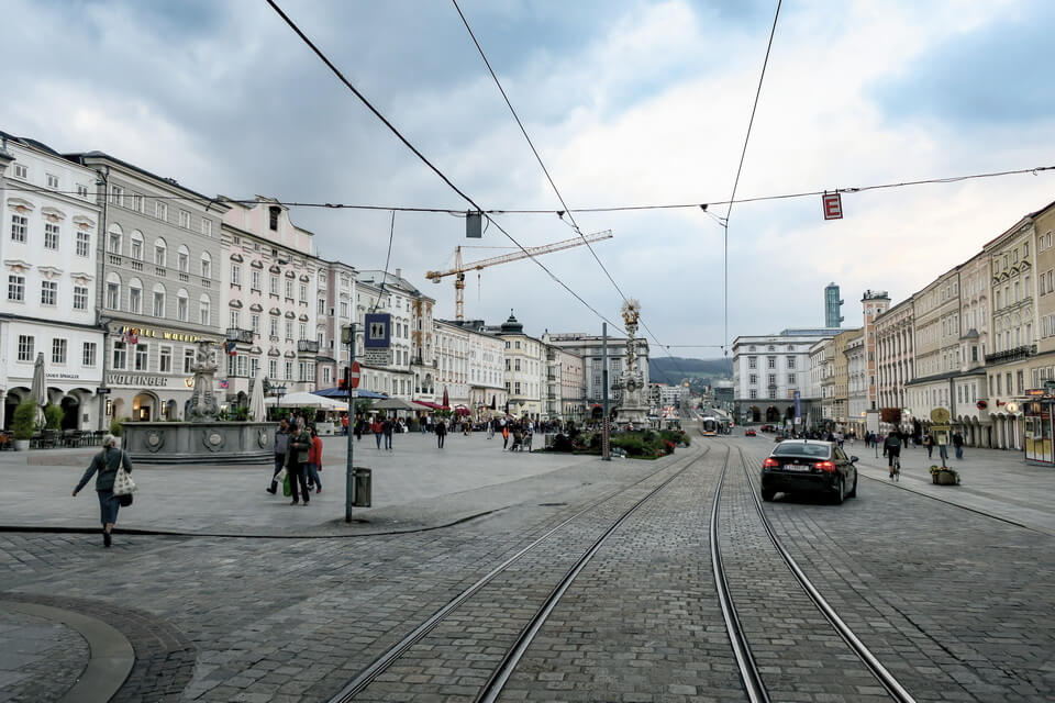 The city of Linz today