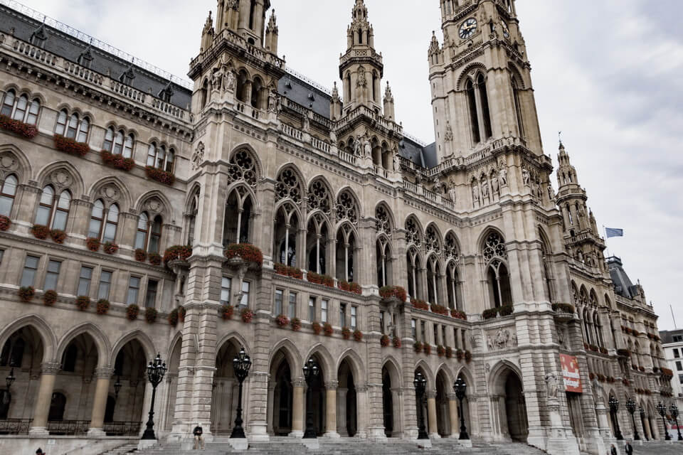 The Rathaus, City Hall of Vienna