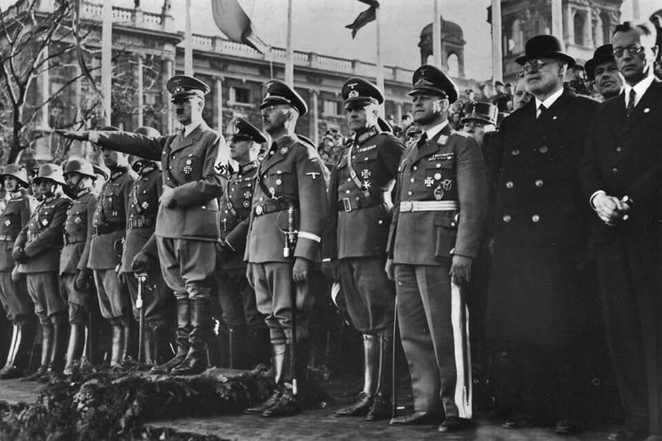 Military parades in Vienna 1938