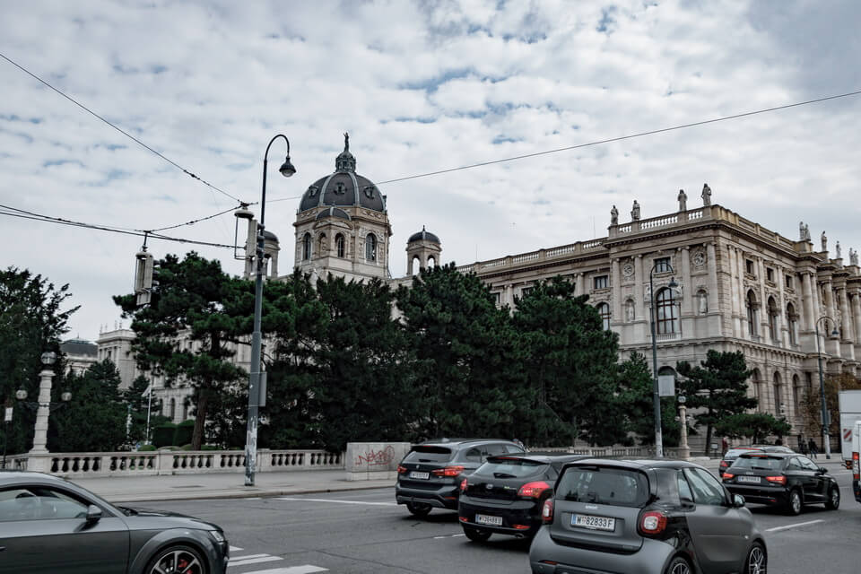 Ringstrasse today Vienna