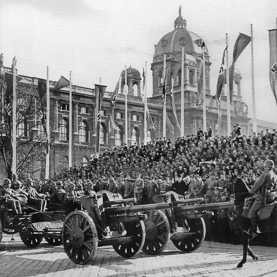 Military parade in Vienna, 1939 the Anschluss
