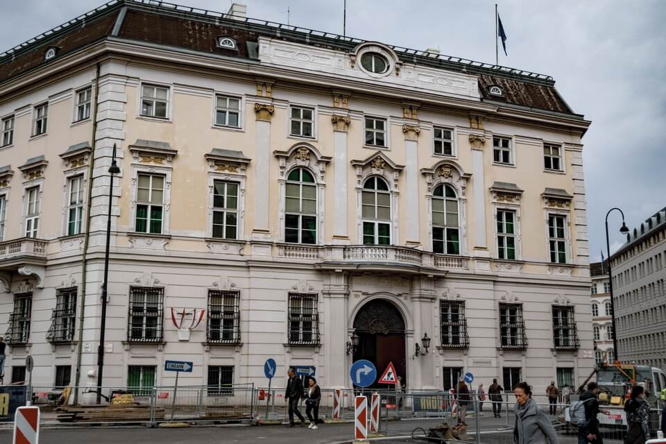 Austrian Chancellery building