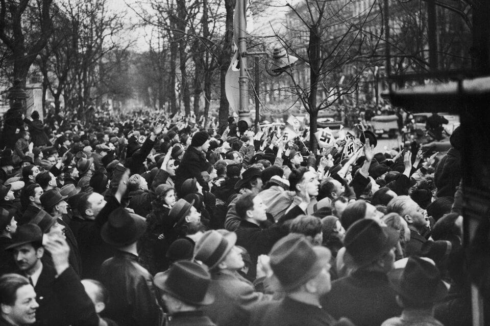 The Anschluss of Austria, Wien 1938