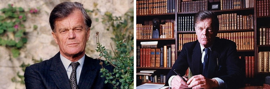 Британский историк и политик Алан Кларк
