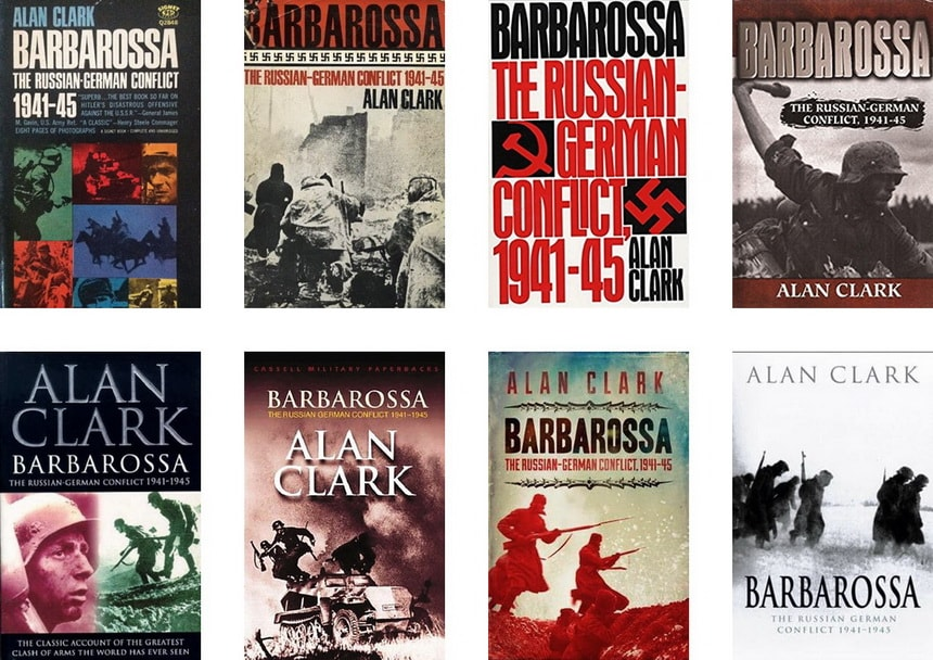 Книга Барбаросса Алана Кларка (Barbarossa, Alan Clark)