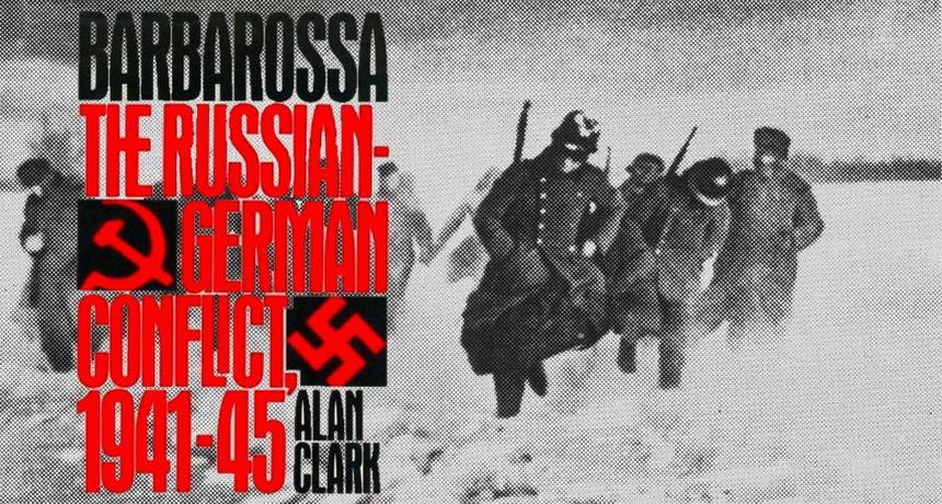 Алан Кларк Барбаросса книга