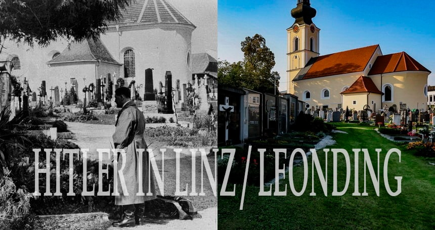 Adolf Hitler in Linz and Leonding, Austria. All sites complete tour