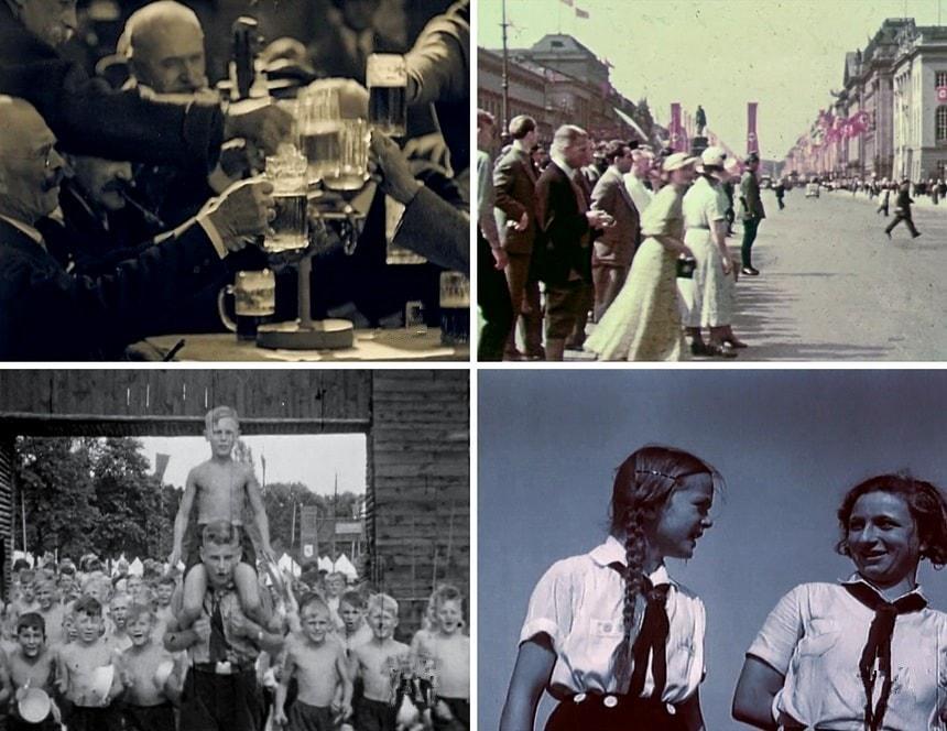 Редкая кинохроника Третьего рейха The Third Reich The rise & Fall