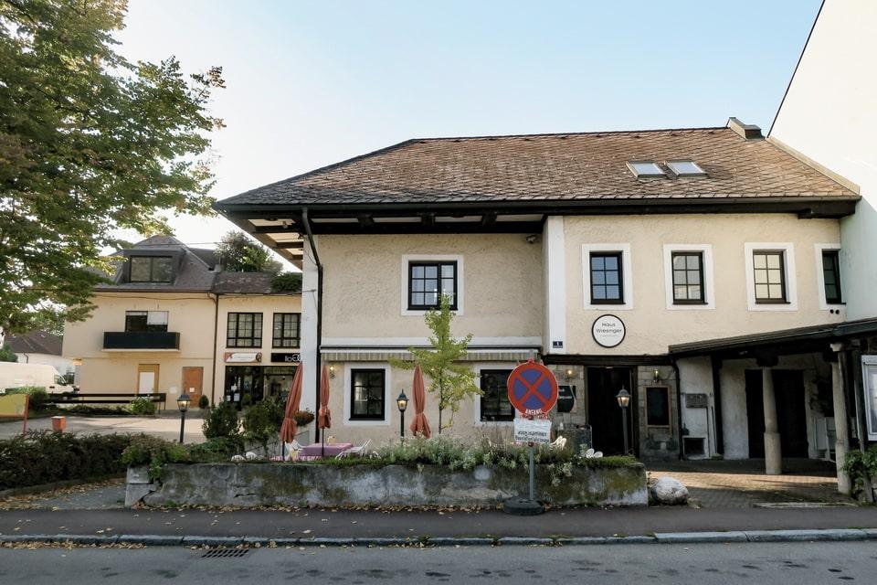 A restaurant, where Alois Hitler died Gasthof Wiesinger