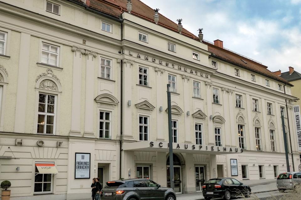 Landestheater theatre in Linz, where Adolf Hitler and August Kubizek met