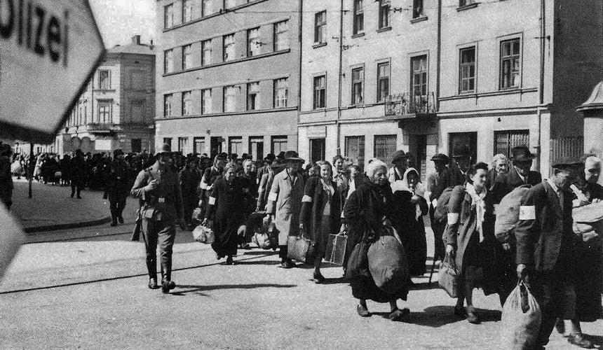 Краковское гетто в 1943 году. Из книги Список Шиндлера