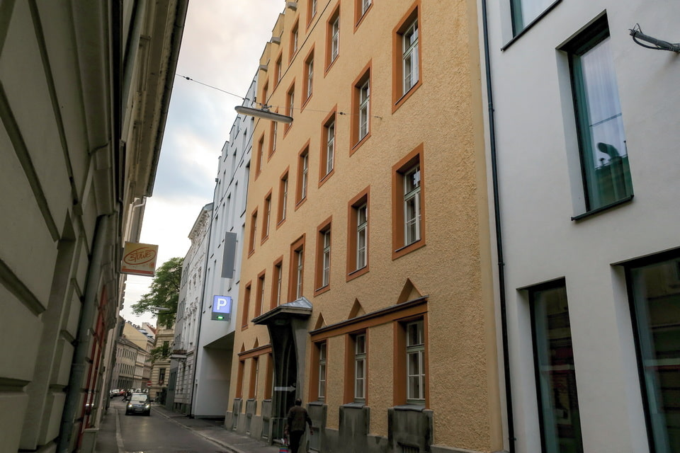 Realschule in Linz, a school od Adolf Hitler in Linz