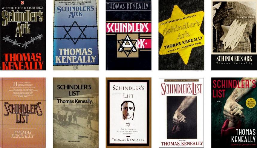 Все издания книги Ковчег Шиндлера Томаса Кеннели