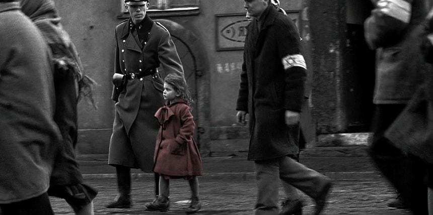 Девочка в красном пальто Список Шиндлера