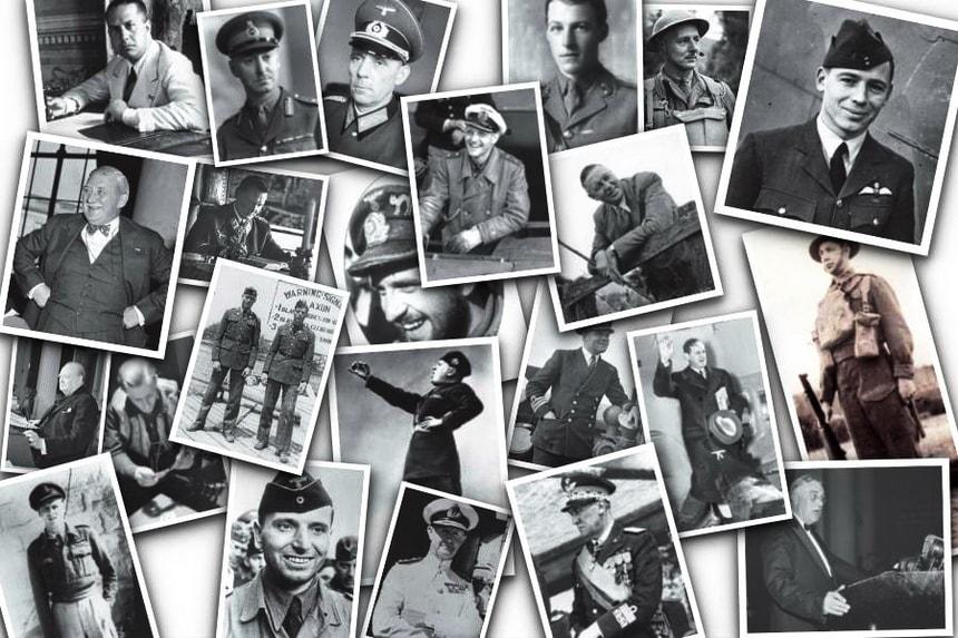 Ключевые действующие лица Вторая Мировая Война