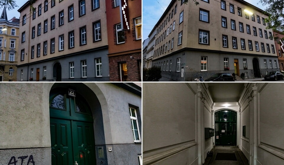 Adolf Hitler house at Felberstrasse 22