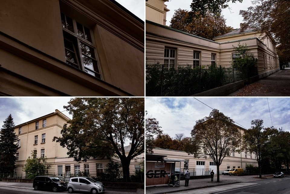 Meidling homeless shelter Hitler in Vienna