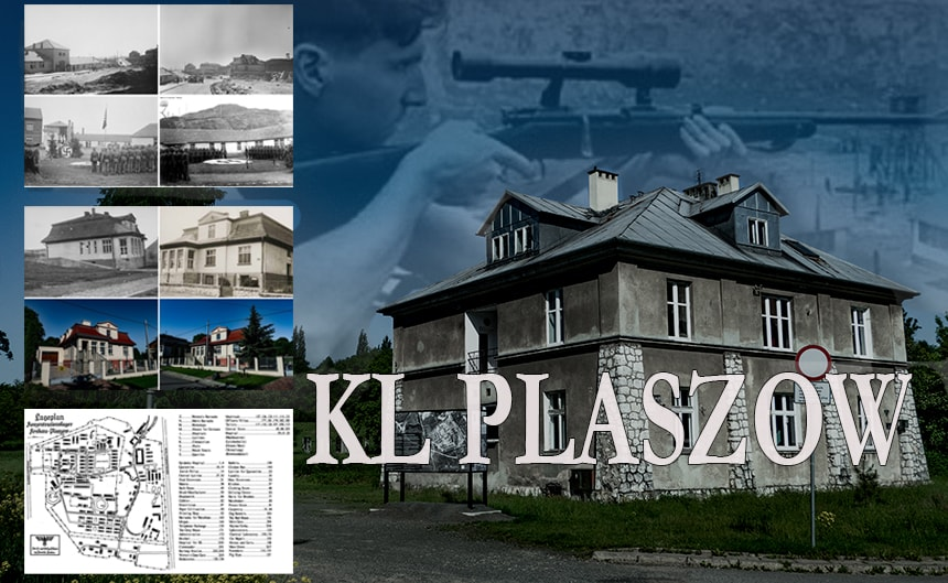 Plaszow concentration camp today. Plaszow map